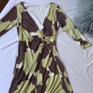 Modern Wrap Dress